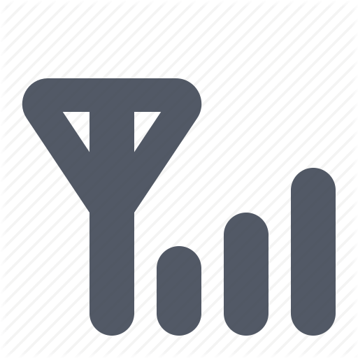 Communication, Network, Reception, Signal Icon