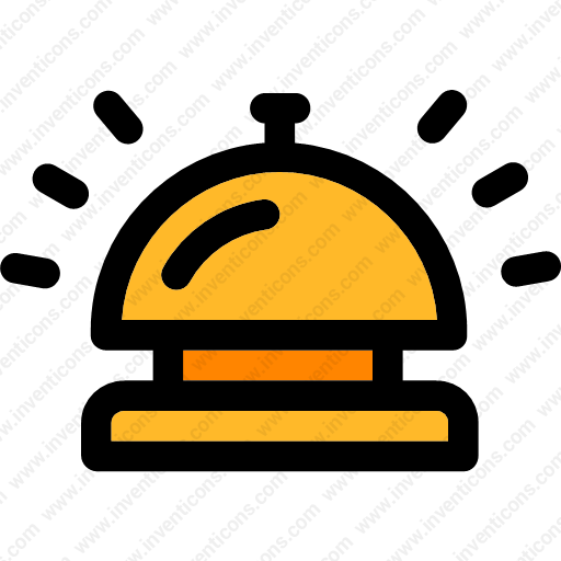 Download Hotel,reception,tools,and,appliances,bell Icon Inventicons