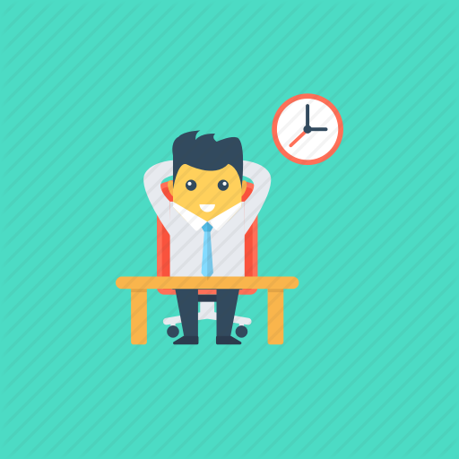 Break Time, Lunch Break, Recess, Relaxation, Rest Time Icon