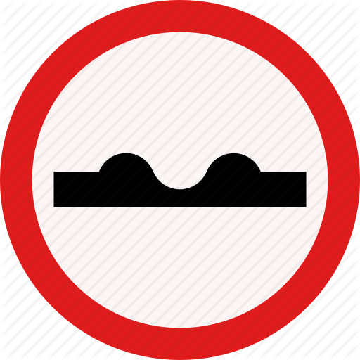 Dent, Driveing, Recess, Road Icon