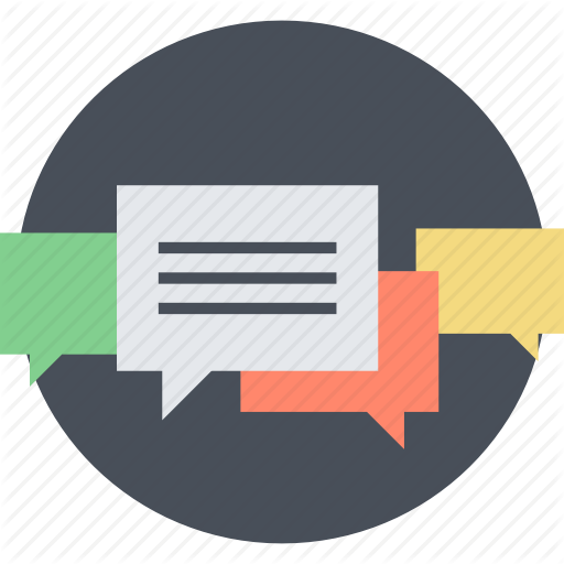 Chat, Communication, Customer, Recommendation, Round, Testimonials
