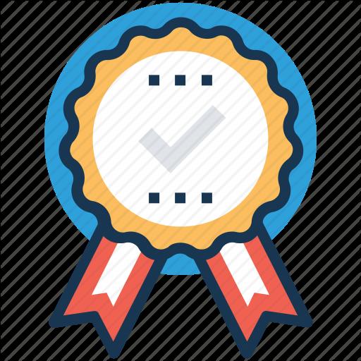 Quality, Recommendation, Reward, Ribbon Badge, Testimonials Icon