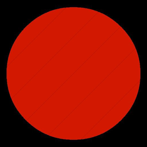 Simple Red Classica Record Button Icon