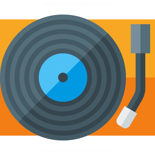 Iconexperience G Collection Record Player Icon