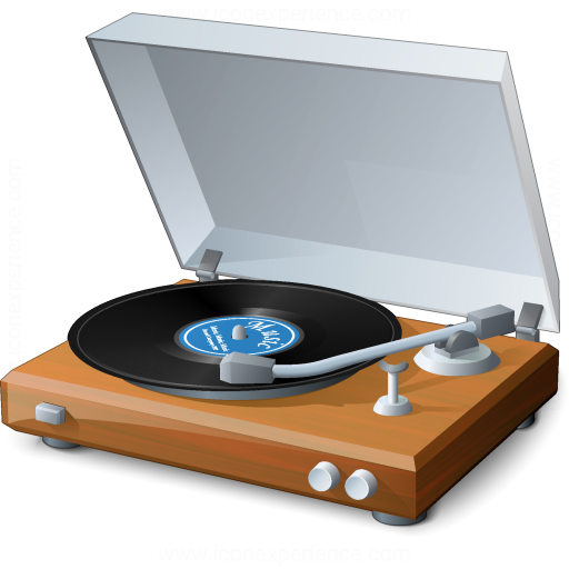 Iconexperience V Collection Record Player Icon