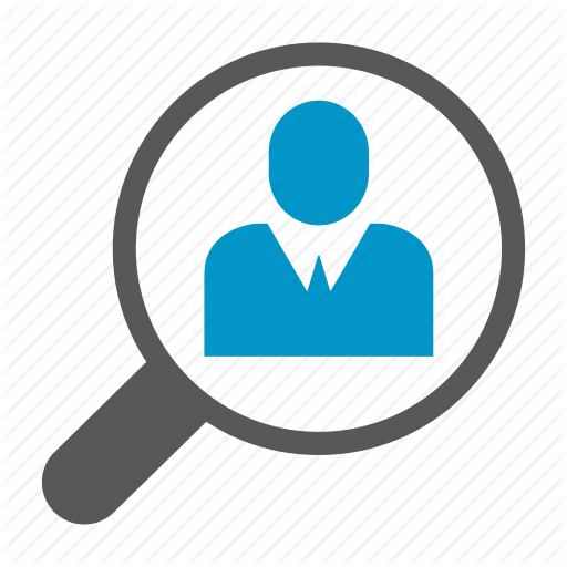 Human Resource, Magnifier, People, Recruiting, Recruitment Icon