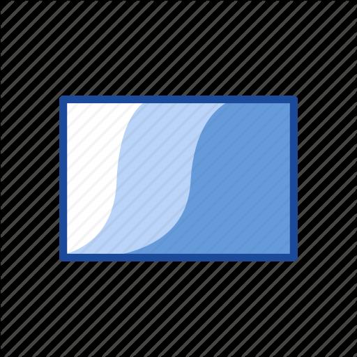 Adobe Tool, Gradient, Gradient Tool, Rectangle Icon
