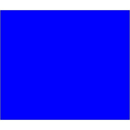 Blue Rectangle Icon