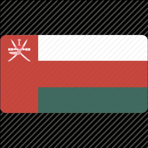 Country, Flag, Flags, National, Oman, Rectangle, Rectangular