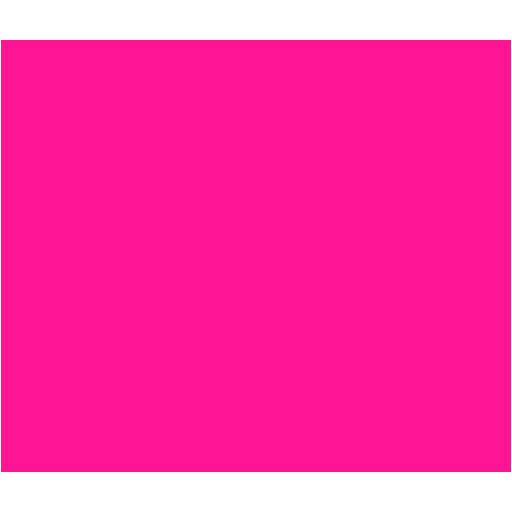 Deep Pink Rectangle Icon