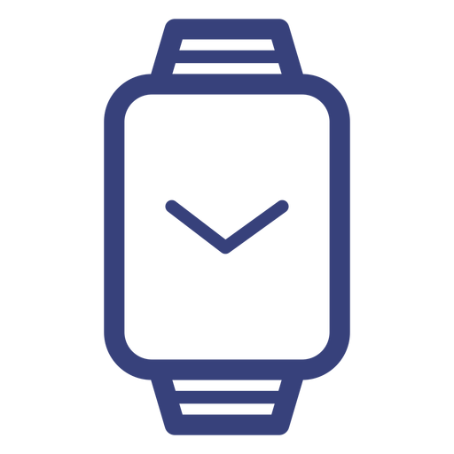 Rectangle Watch Stroke Icon