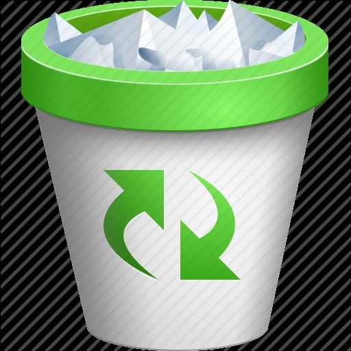 Delete, Full Dustbin, Recycle Bin, Remove, Rubbish Basket, Trash