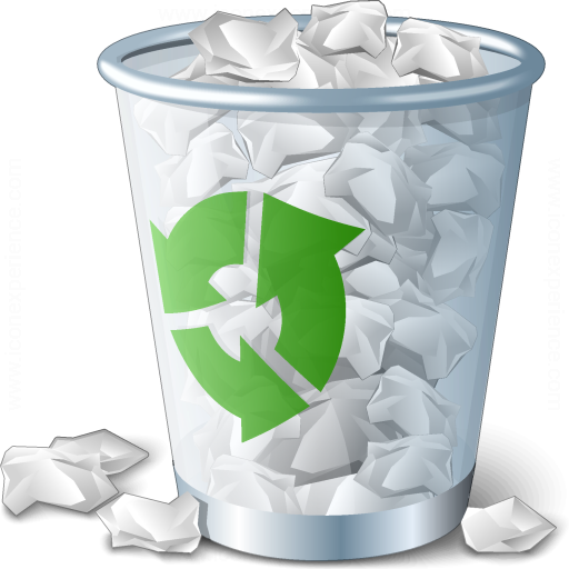 Iconexperience V Collection Garbage Full Icon