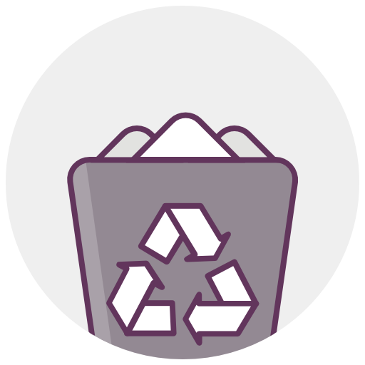 Recycle Bin, Full Icon Free Of Office Icons
