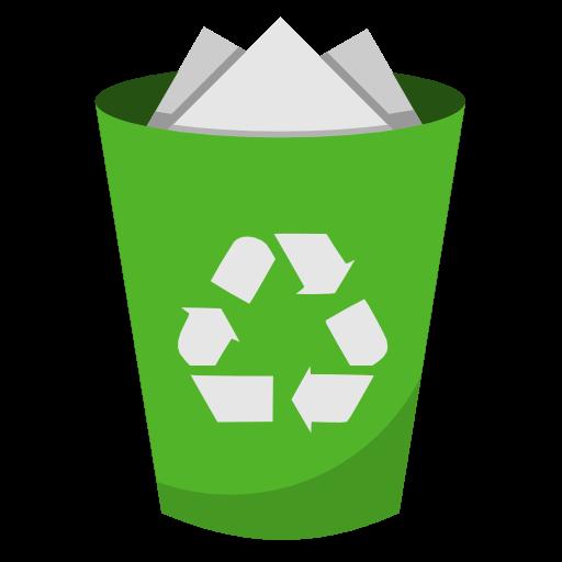 System Recycling Bin Full Icon Plex Iconset