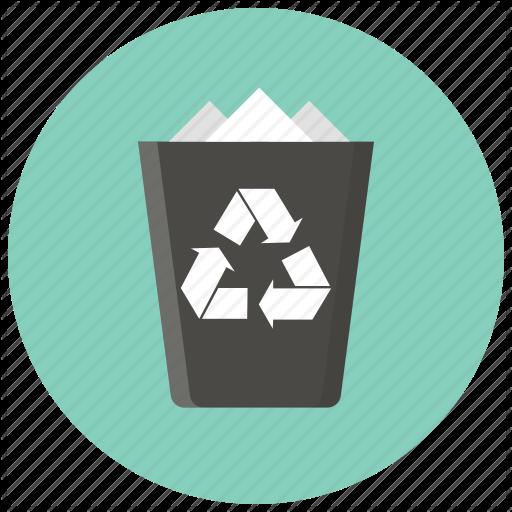 Trash, Recycle, Bin, Delete, Remove, Cancel, Garbage Icon