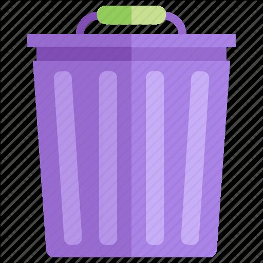 Bin, Can, Disposal, Garbage, Recycle, Trash, Trashcan Icon