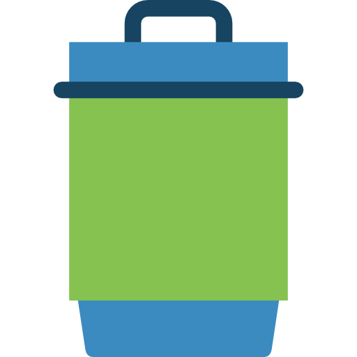 Miscellaneous, Recycle Bin, Trash Can Icon