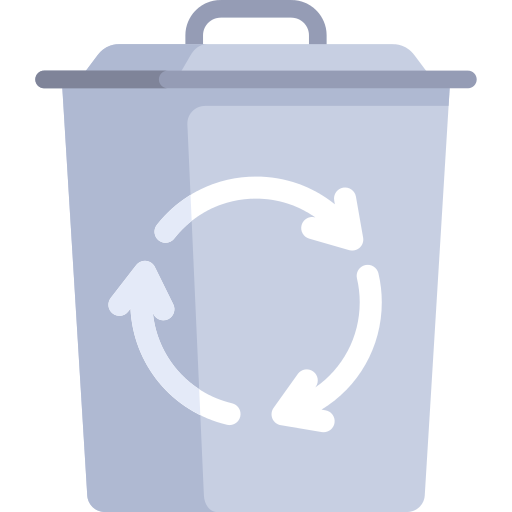 Trash Recycle Bin Png Icon