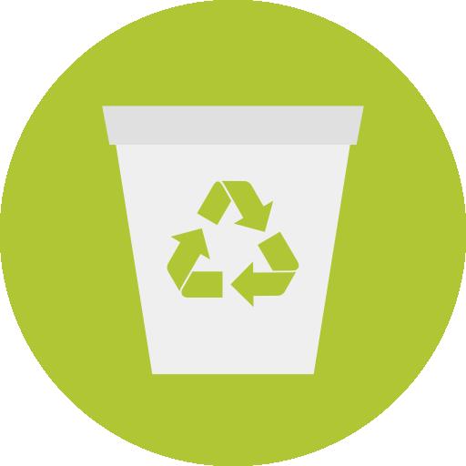 Recycle Bin, Delete, Garbage, Trash Icon