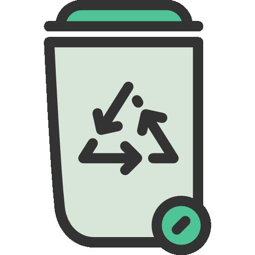 Recycle Bin, Trash Can, Metallic, Trash Bin, Garbage Bn
