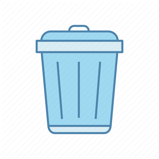Bin, Can, Garbage, Recycle, Rubbish, Trash, Waste Icon