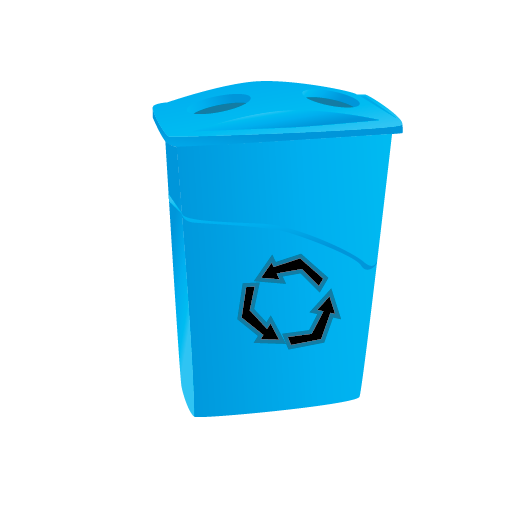 Recycle, Janitor, Bin, Cleaning Icon