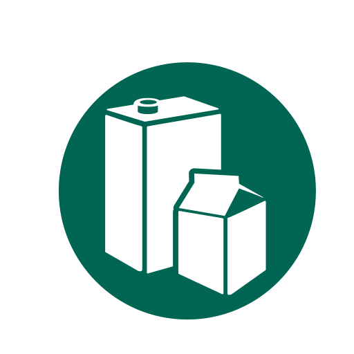 Containers, Beverage, Kitchen Recycling, Food, Recycle, Recycling Icon