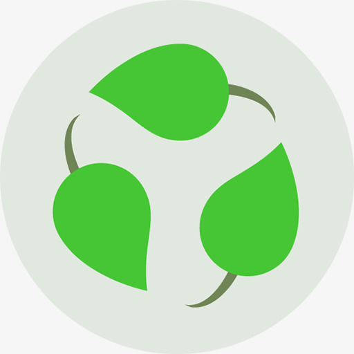 Recyclable Icon, Icon, Environmental Protection, Leaves Png Image