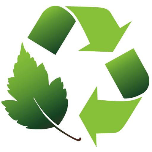 Cropped Waste Recycling Icon