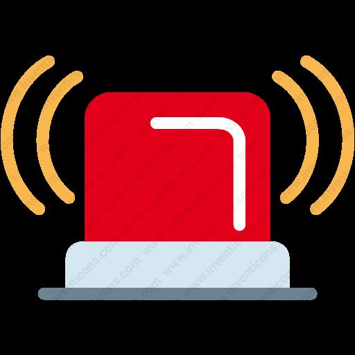 Download Alert,light,signal,traffic,warning Icon Inventicons