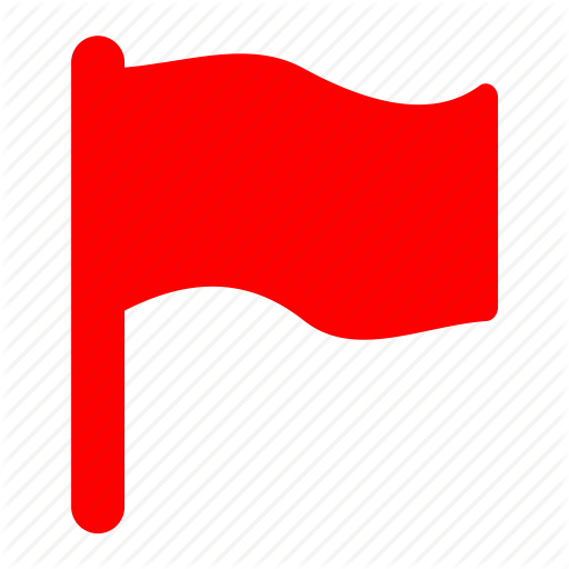 Alert, Flag, Important, Mark, Red Icon