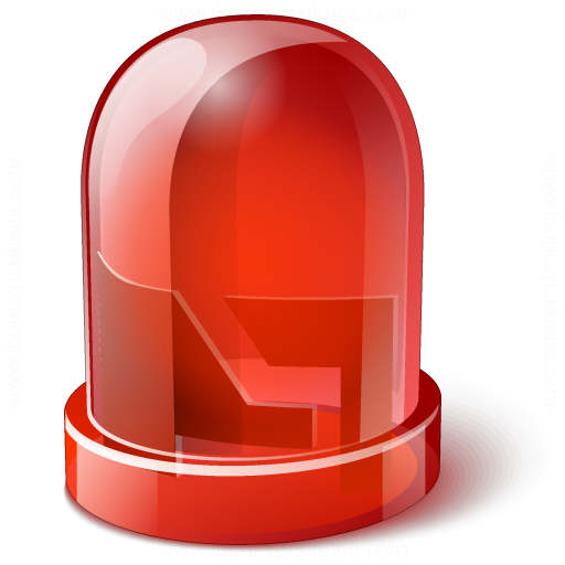 Iconexperience V Collection Led Red Icon