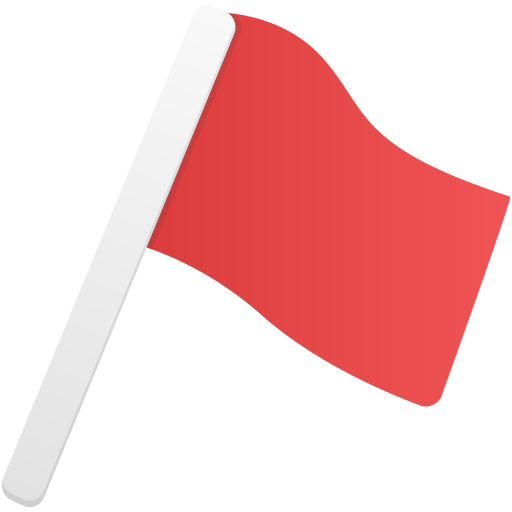 Red Flag Transparent Png Clipart Free Download