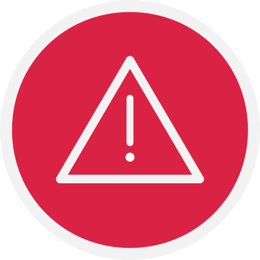 Warn, Danger, Warning, Alert Icon