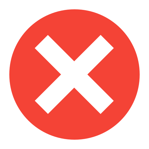 Close, Remove, Delete, Warning, Alert, Error Icon Free