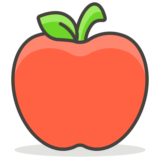 Red, Apple Icon Free Of Free Vector Emoji