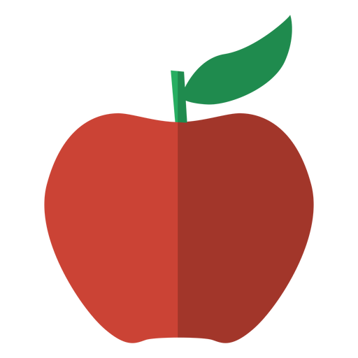 Red Apple Icon Fruit