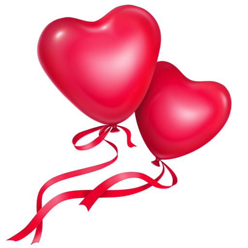 Red Heart Shaped Balloon Icon Download Free Icons