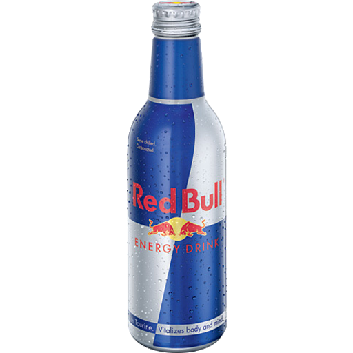 Red Bull Energy Drink Bottle