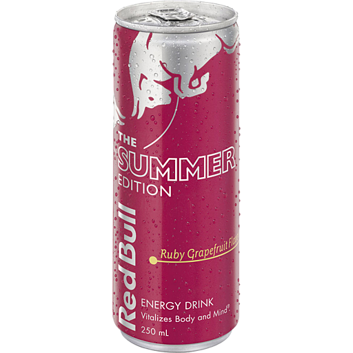 Red Bull Red Bull Ruby Grapefruit Can
