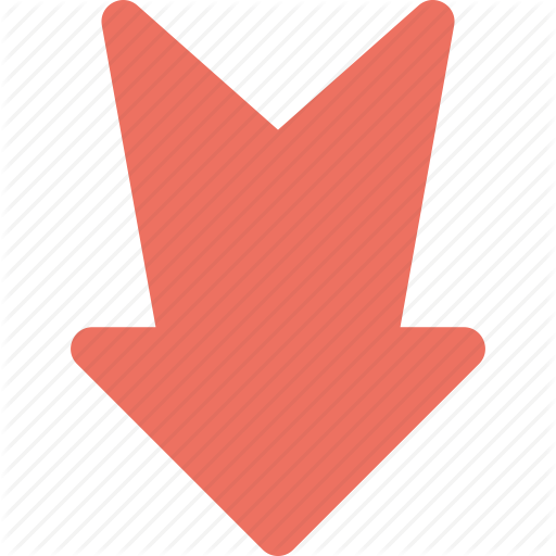Directional, Down, Download, Downward Arrow, Road Sign Icon