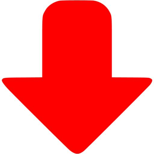 Red Down Icon