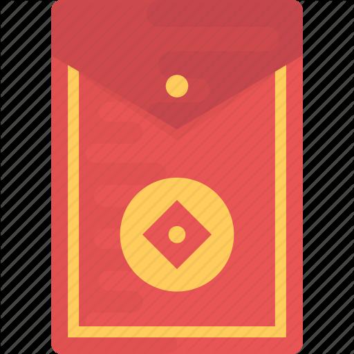 Chinese Envelope, Festival Envelope, New Year Envelope, Red
