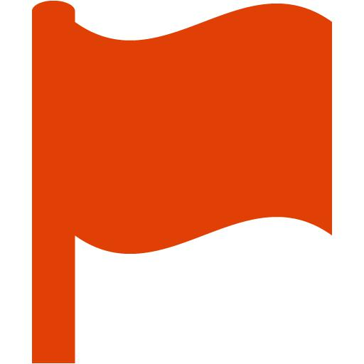 Red Flag Icon at GetDrawings com | Free Red Flag Icon images