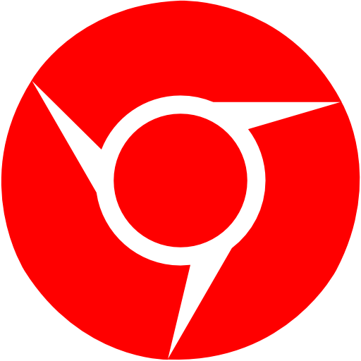 Red Chrome Icon Images