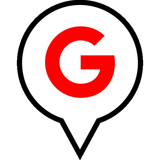 Google Free Red Black Filled Social Media Pn Designed