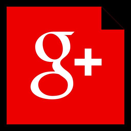 Social Media Google Red Icon