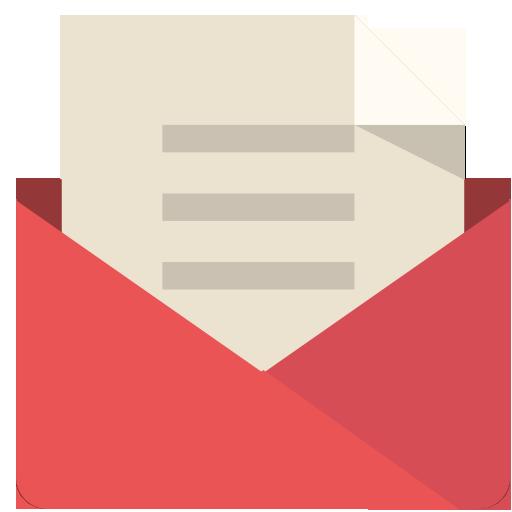 Mail Icon Flat Retro Modern Iconset Grafikartes