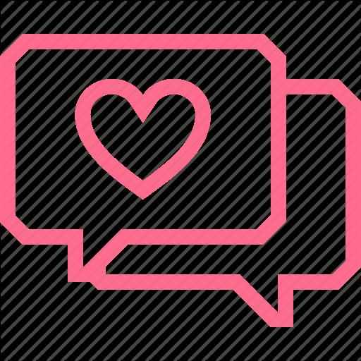 Bubble, Chat, Communication, Conversation, Heart, Like, Message